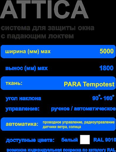 Характеристики маркизы для окна