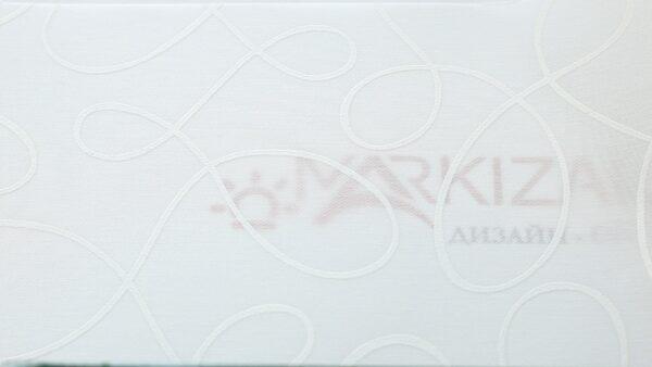 Артуэль белый - ткань для рулонных штор