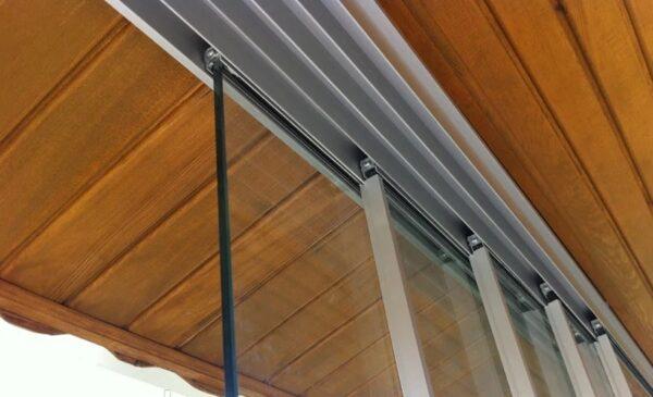 Остекление для террасы Slide glass tall