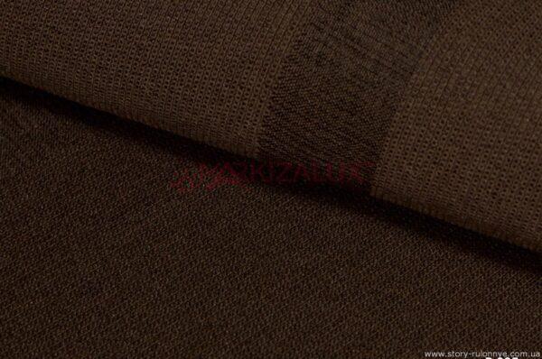 Папирус шоколад - ткань для римских штор