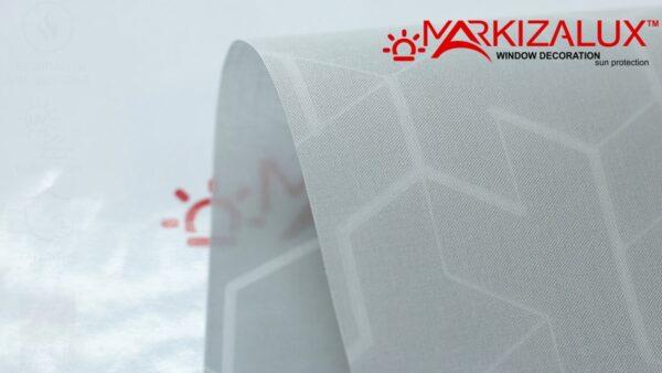 Призм серый - ткань для тканевых жалюзи