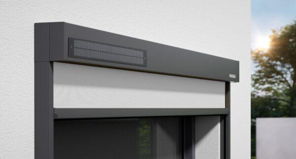 Markilux 620 tracfix вертикальная маркиза с особой устойчивостью к ветру