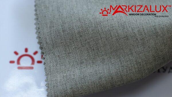 Римская штора из ткани Рогожка Светло серый - ткань