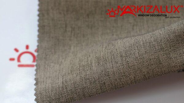 Римская штора из ткани Рогожка Гранит - ткань