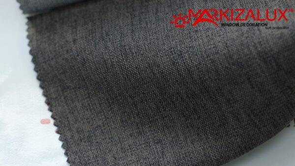 Римская штора из ткани Рогожка Мокрый асфальт - ткань