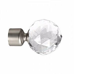 Наконечник для карниза Marcin Dekor Шар кристалл 16 мм