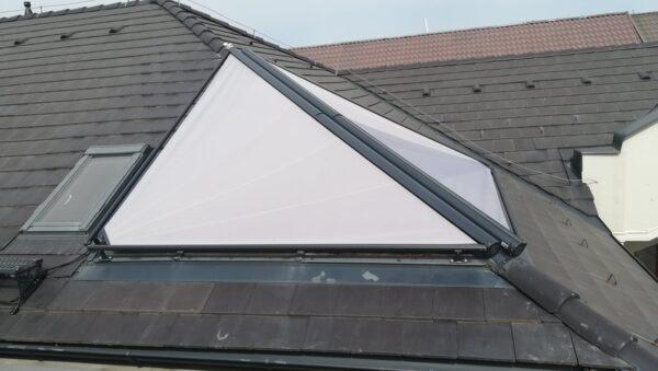 Треугольная маркиза Markilux 893 для зимнего сада/мансарды