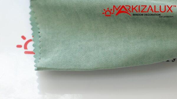 Римская штора из ткани Велюр Мята - ткань