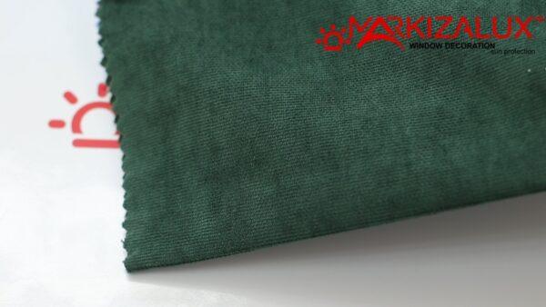 Римская штора из ткани Велюр Рубин - ткань